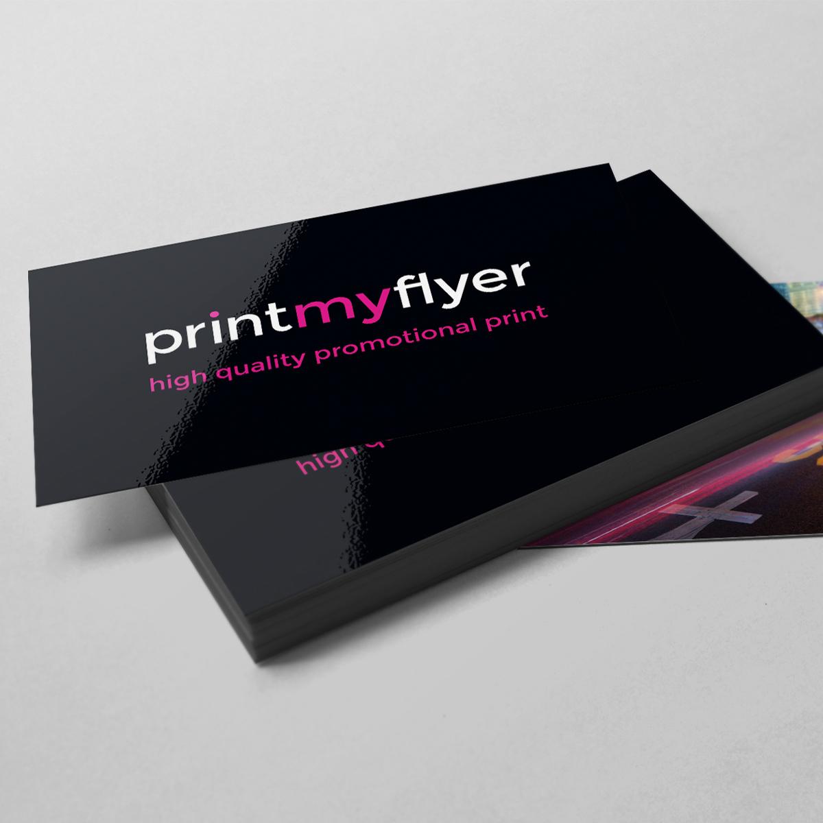Gloss Laminated Business Card Printed Both Sides