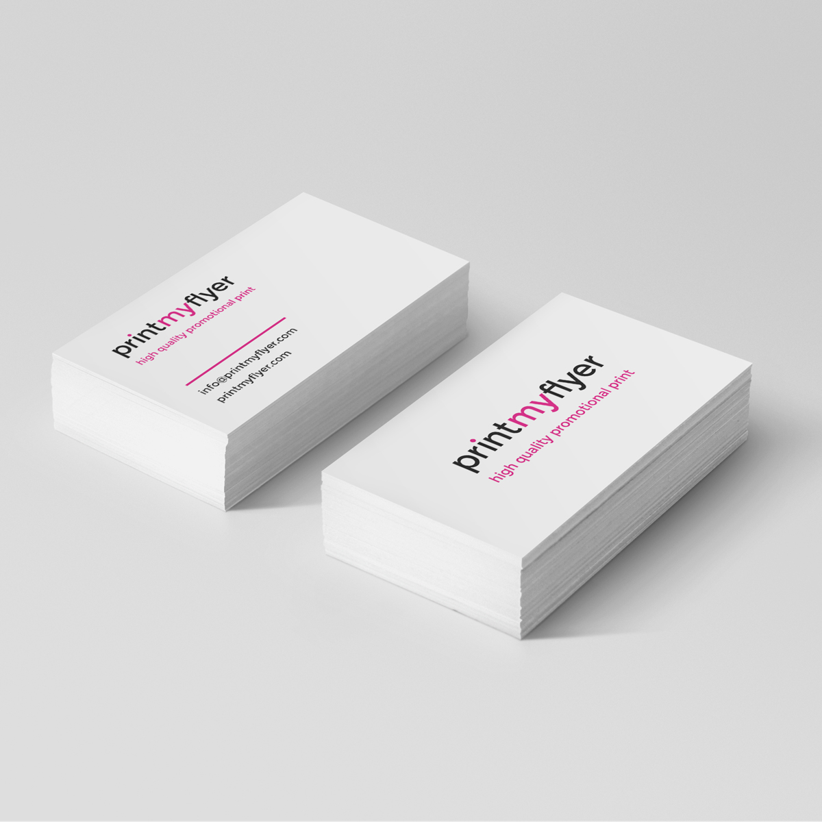 Pulp Board Full Colour Printed Business Cards