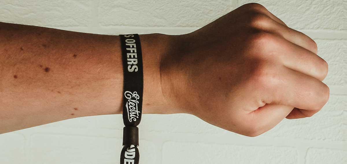 Fabric-Wristbands
