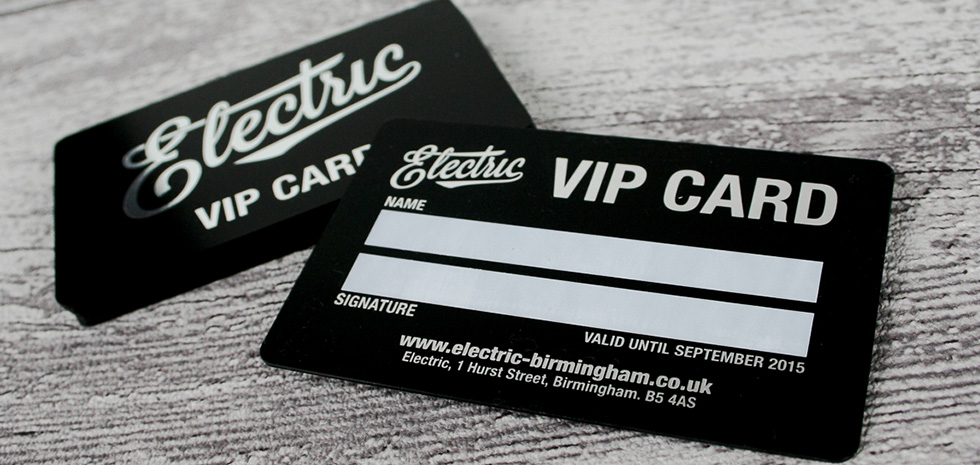View the print and design portfolio of print my flyer silver foil vip plastic cards electric business card printing reheart Gallery